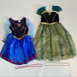 Disney Frozen Anna Dress & Coronation Gown